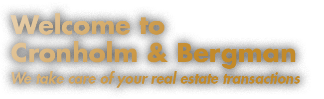För framgångsrika fastighetstransaktioner